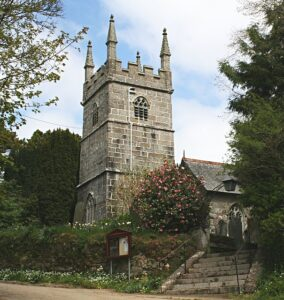 Perranarworthal Church By Tony Atkin