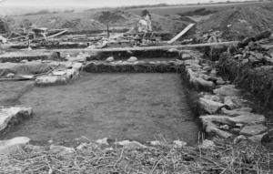 Roman villa were found at Magor Farm - Morab Library