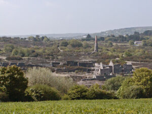 The ruins of Poldice mine Gwennap