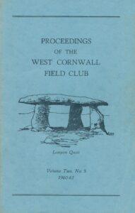 West Cornwall Field Club Final Edition 1961