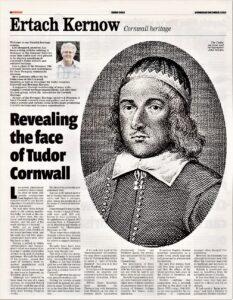 Ertach Kernow - John Norden - Revealing the Face of Tudor Cornwall