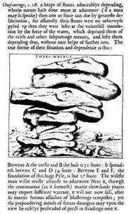 John Norden - Cheesewring drawing & description