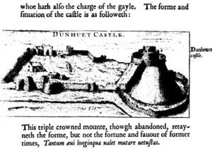 John Norden - Launceston Castle