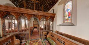 St Winnow Church (interior)