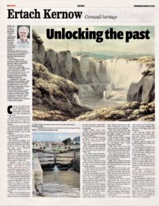 Ertach Kernow - Unlocking the past Cornwall's canals