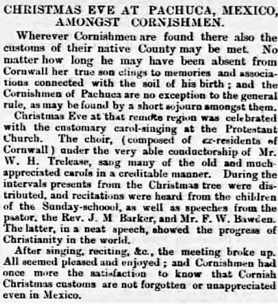 Cornishman - Thursday 26 January 1882