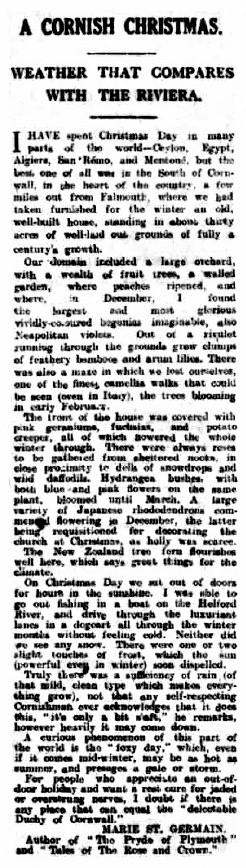 Evening Herald and Western Evening News - December 29th 1923