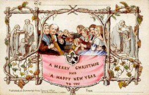 World's First Christmas Card 1843