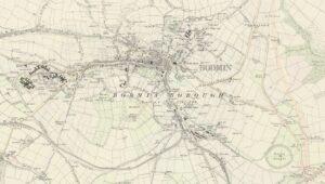 19th Century Bodmin & District Map