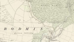 19th Century Dunmere & District Map