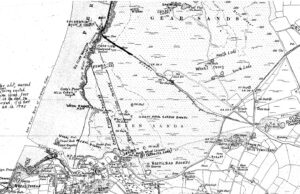 Perranporth Tin Bounds & Mines Map