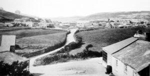 Perranporth - Village c1890