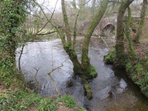 River above Respryn Bridge