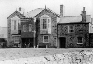 Wheal Leisure Mine - Early 1960s, The Count House prior to demolition