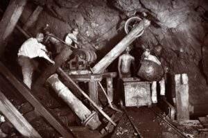 Engine Shaft at level 406 - Cook's Kitchen Mine