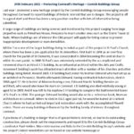 Ertach Kernow Heritage Column - 24th February 2021 – Protecting Cornwall's Heritage - Cornish Buildings Group