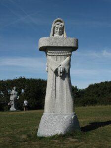 St Piran, La Vallee des Saints, Quenequillec, Carnoet by Terry Knight