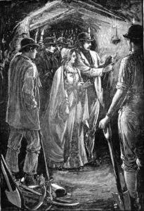 Queen Victoria & Prince Albert Cornish Iron Mine 1846