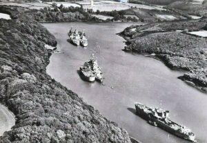 Royal Navy Ships Fal River