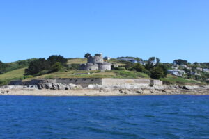 St Mawes Castle from Carrick Roads - pennyhampson.co.uk