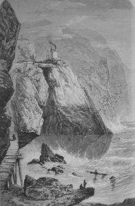 The Botallack Mine Cornwall 1860