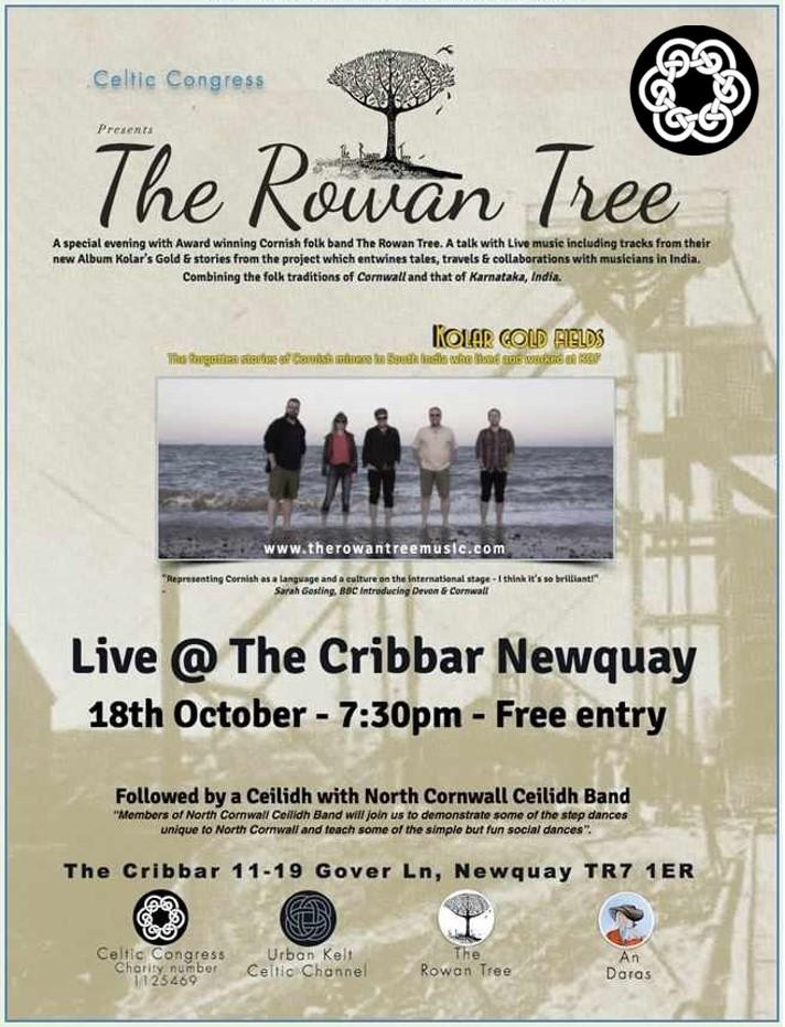 The Rowan Tree - North Cornwall Ceilidh Band