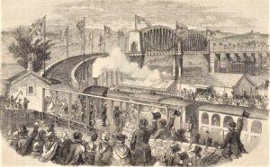 1859 Opening of the Royal Albert Bridge