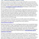 Ertach Kernow Heritage Column -21st April 2021 - Museums are making plans