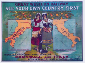 GWR - Cornwall & Italy Poster