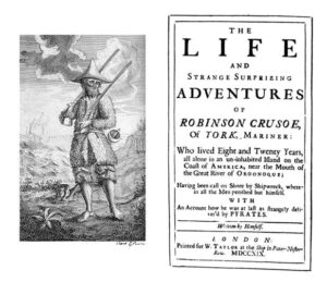 Robinson Crusoe 1st Edition - 1719