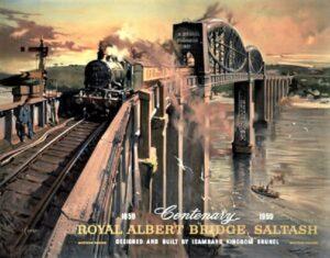 Royal Albert Bridge Poster