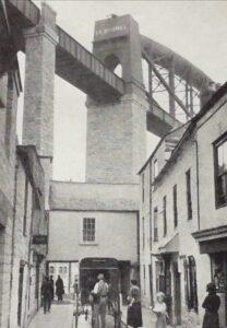 Saltash under Royal Albert Bridge [1936]