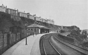 St Ives GWR Looking west towards buffers - June 1920