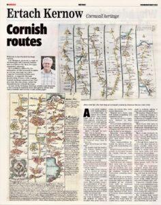 Ertach Kernow - Cornish routes
