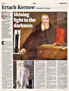Ertach Kernow- Shining light in the darkness
