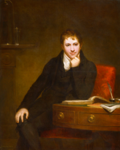 Humphry Davy as a youngman 1803