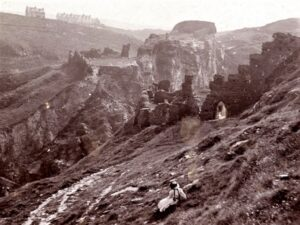 Neglected Tintagel c1900 - Royal Cornwall Museum