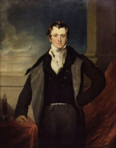 Sir Humphry Davy, Bt by Sir Thomas Lawrence