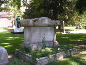 Grave of Sir Humphry Davy in Geneva