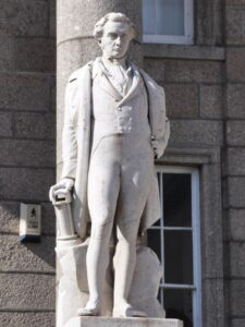 Sir Humpry Davy Statue in Penzance