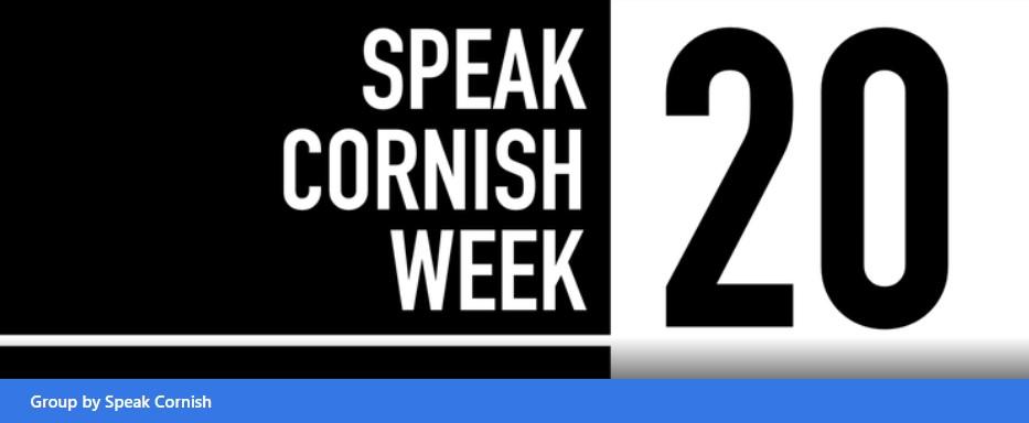 Speak Cornish Week - Facebook Link