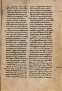 This copy of the History was produced in England in the late 12th-century