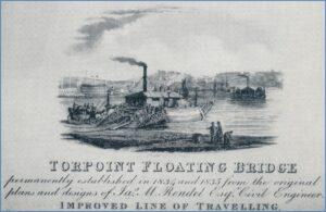 Torpoint Floating Bridge c1835