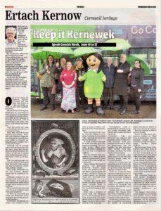 Ertach Kernow - Keep it Kernewek
