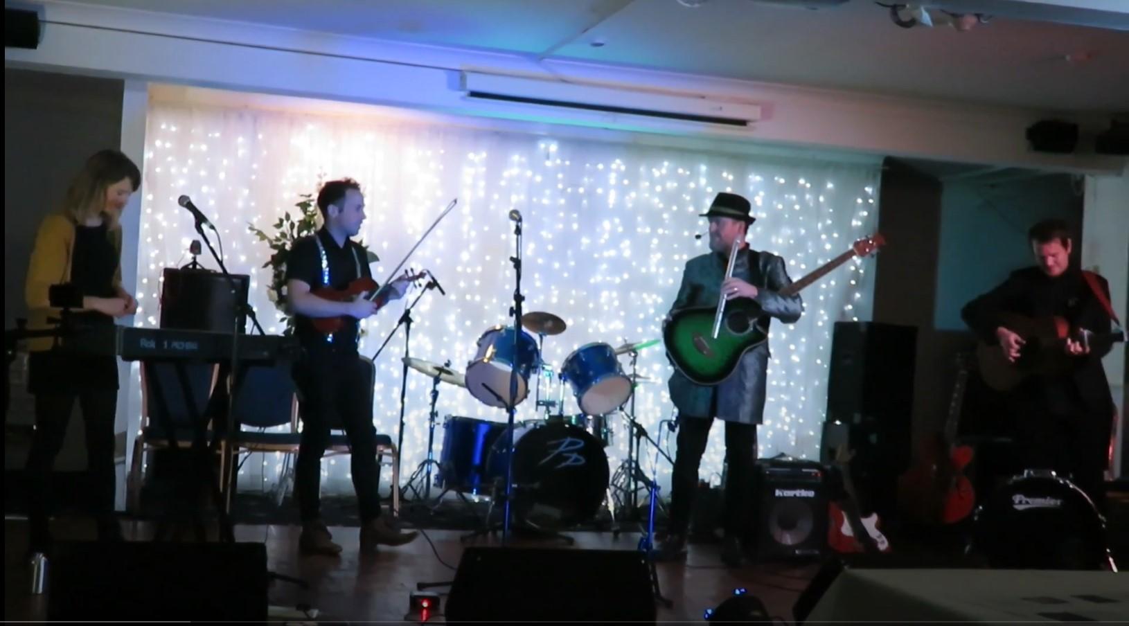 Award winning group 'The Rowan Tree' perform songs in Kernewek