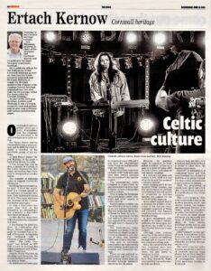 Ertach Kernow- Celtic Culture