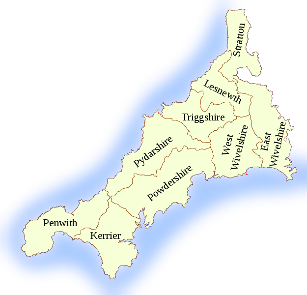 Cornish Hundreds (nine)