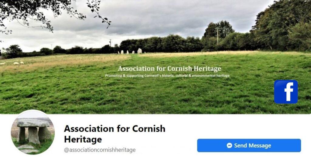 Facebook Page Header - Association Cornish Heritage