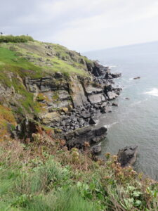 High Cliffs at the Lizard. It's though to originate its name from Lys ardh