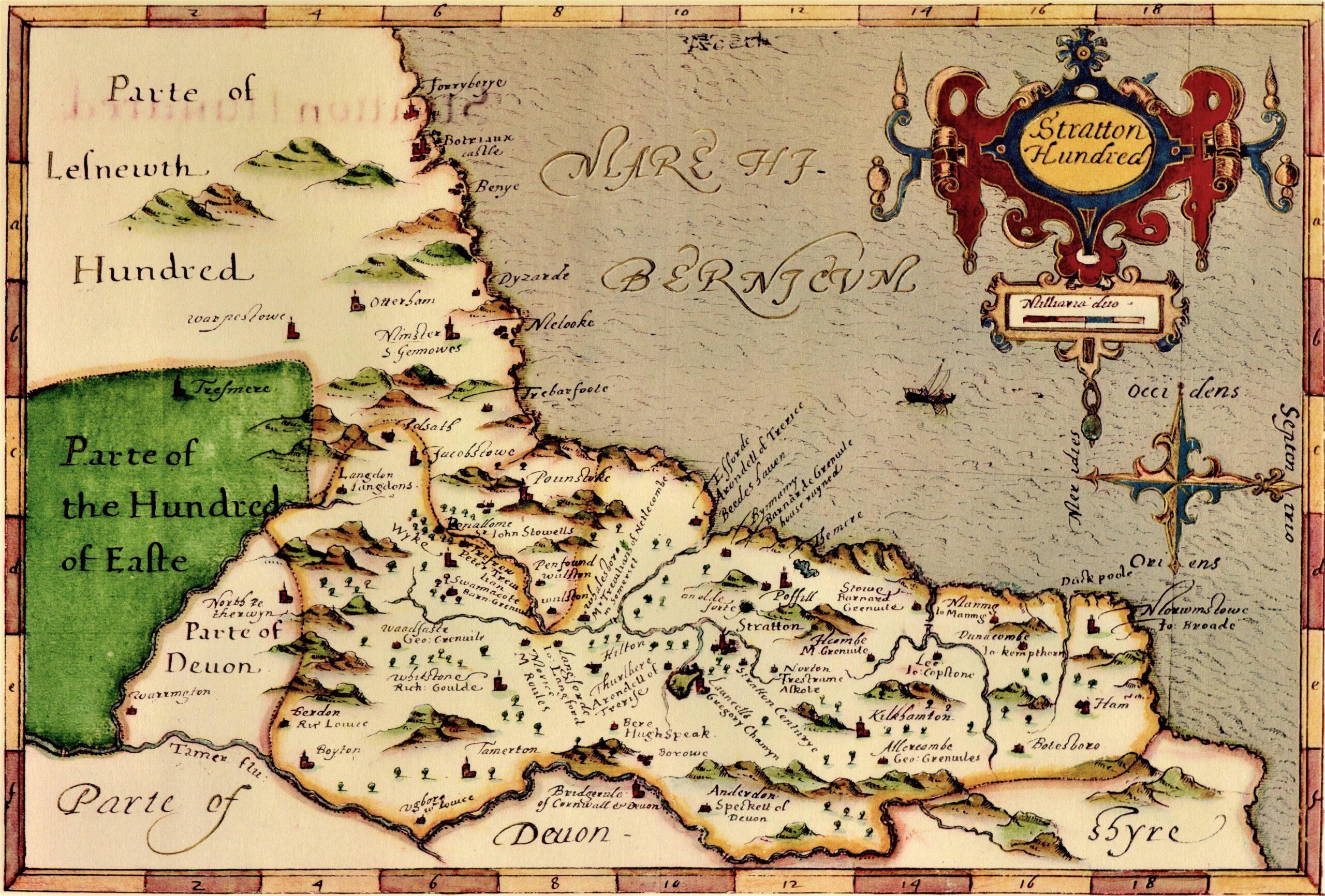 John Norden - Map Stratton Hundred